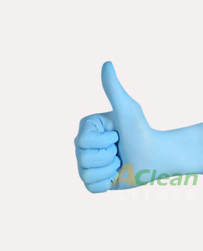 蓝色一次性手套
